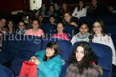 Público en el teatro del Centro Cultural.