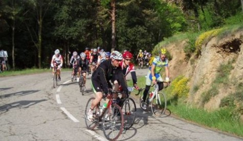 Ruta ciclista. Foto ciclismofondo.es.