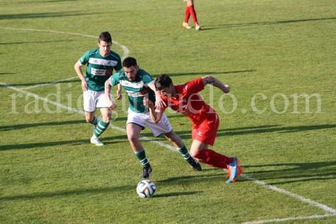 Yeray autor del gol en O Vao.