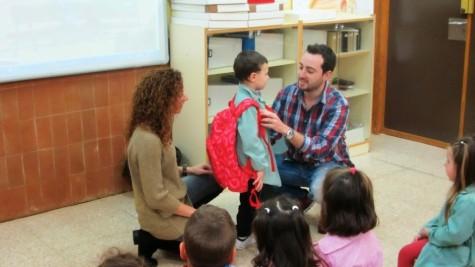 Charla sobre salud corporal en el Miguel de Cervantes. Foto Colegio Miguel de Cervantes