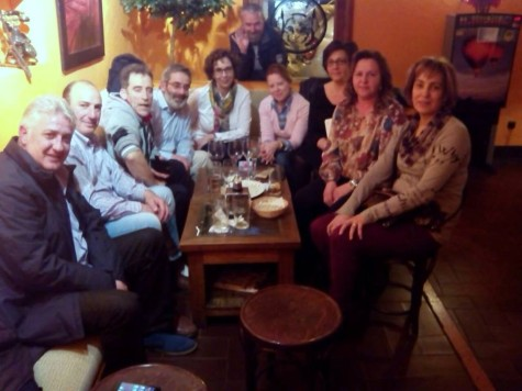 Reunión de los Quintos del 65 de Guijuelo. Foto facebook