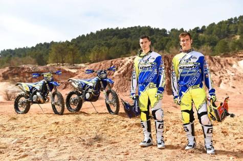 Lorenzo Santolino y Jeremy Torroux. Foto D Agrati.