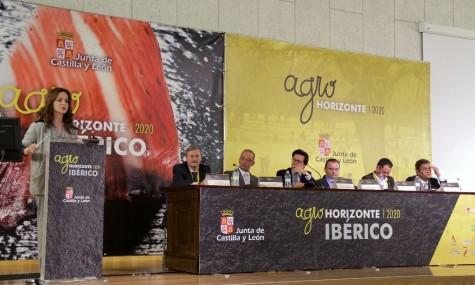 Silvia Clemente en AgroHorizonte 2020. Foto Junta CyL