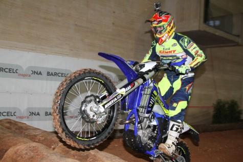 Santolino en el indoor de Barcelona. Foto L.S.