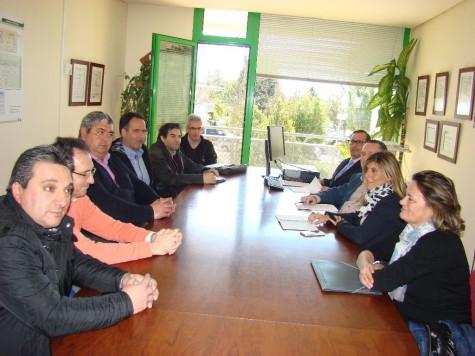 Reunión de representantes de Mancomunidades. Foto Diputacion de Salamanca.