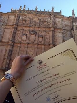 Diploma. Foto M. N.