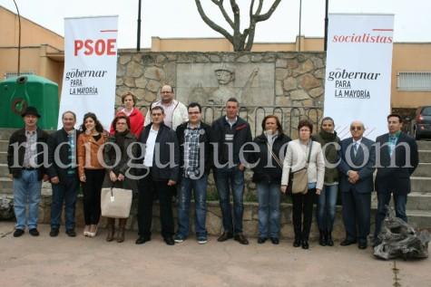 Candidatura del PSOE en Guijuelo.