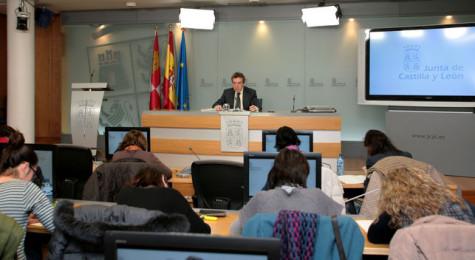 El consejero de la Junta de Castilla y León. Foto Junta CyL.