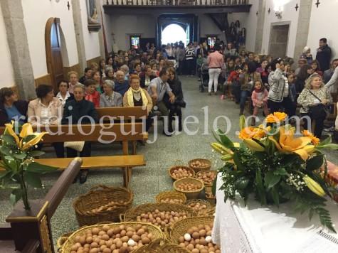 Fiesta de los huevos del Cristo. Foto archivo.