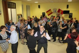 Baile en el Hogar del Jubilado. Foto archivo.