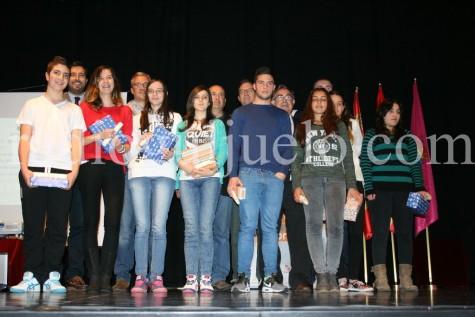 Ganadores de la fase provincial del concurso Motivar para Emprender.