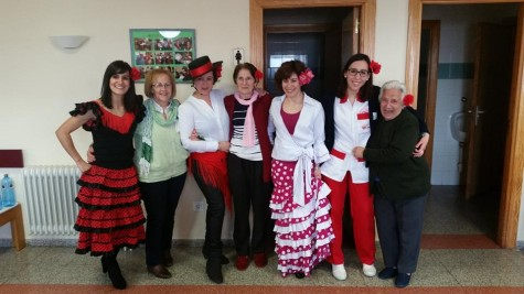 Celebración en la Residencia ESGRA de Guijuelo.
