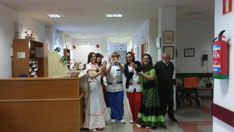 Celebración en la Residencia ESGRA de Guijuelo. Foto archivo.