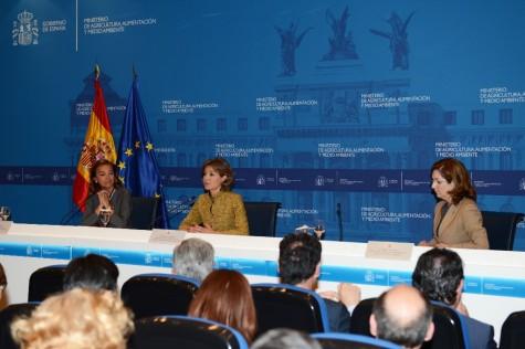 La ministra de Agricultura, Alimentación y Medio Ambiente, Isabel García Tejerina. Foto Gobierno de España.
