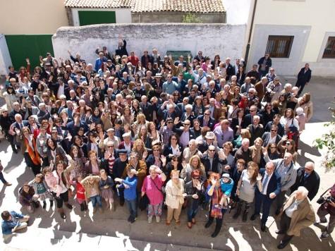 Familia Díaz en Santibañez. Foto I.S.C
