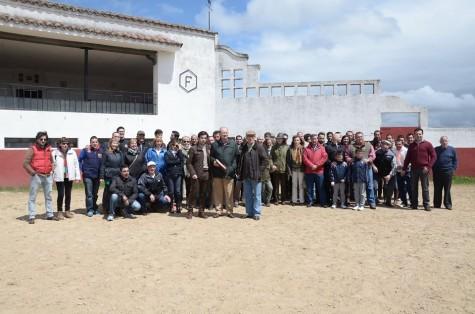 Miembros de la Asocación Taurina de Guijuelo. Foto Asoc. Taurina de Guijuelo.