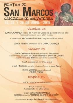viernes FIESTAS CABEZUELA 2015