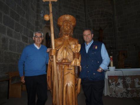 Isidoro Sánchez y Blas Rodríguez.