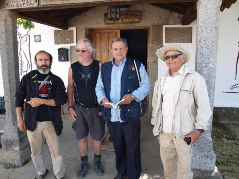 Organizadores de la ruta jacobea.