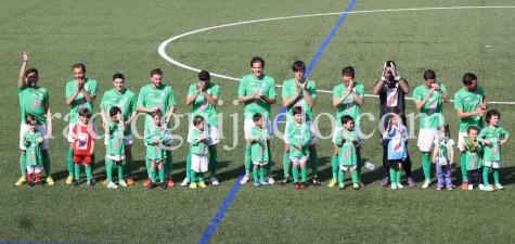 Primer equipo y conjunto de Chupetines del CD Guijuelo