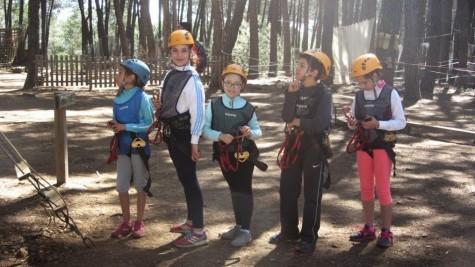 Alumnos del Miguel de Cervantes en San Miguel de Valero. Foto M.C.