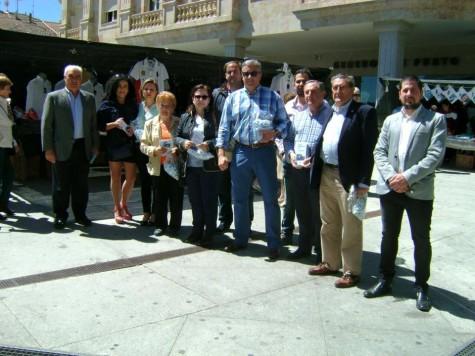Miembros del PP de Guijuelo. Foto PP.