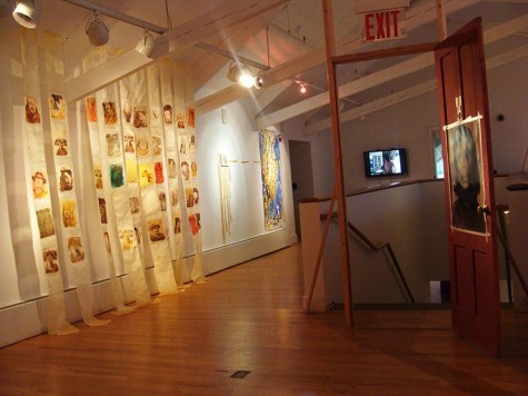 Exposición de Elisa Merino. Foto E.M.