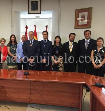 Alcalde y concejales del Ayuntamiento de Guijuelo.