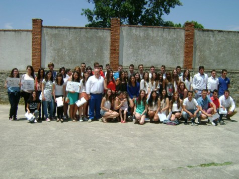 Graduación de los alumnos de 4º de ESO.
