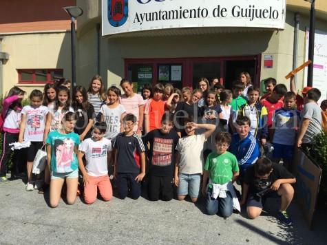 Alumnos de 5º de Primaria del Filiberto Villalobos.