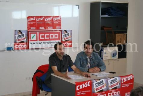 Asamblea de CCOO en Guijuelo.