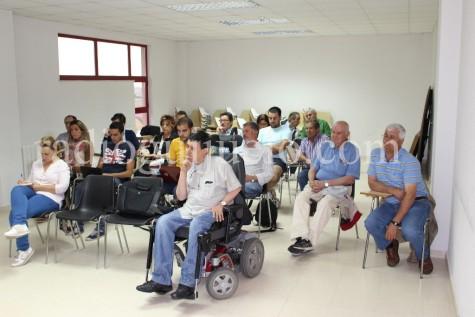 Asistentes a la Asamblea del C.D. Guijuelo.
