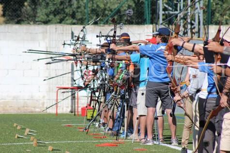 Campeonato de tiro con arco en Guijuelo. Foto archivo