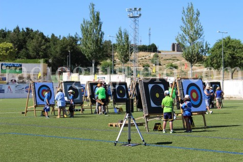 Campeonato de tiro con arco. Foto archivo.