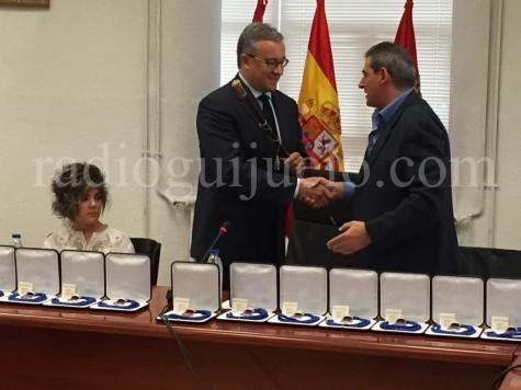 Constitución del Ayuntamiento de Guijuelo.