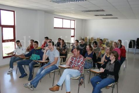 Delegados sindicales de CCOO de Guijuelo.