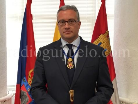 El alcalde de Guijuelo Julián Ramos.