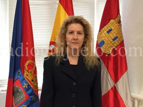 Rosa Hernández, alcaldesa de Campillo de Salvatierra.