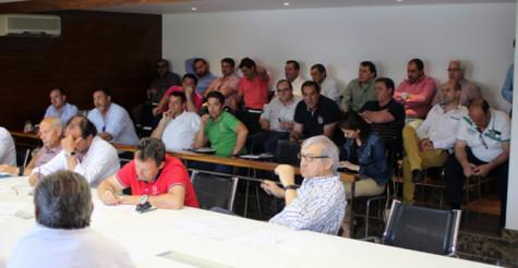 Sesion de la  Lonja de Salamanca. Foto Tribuna