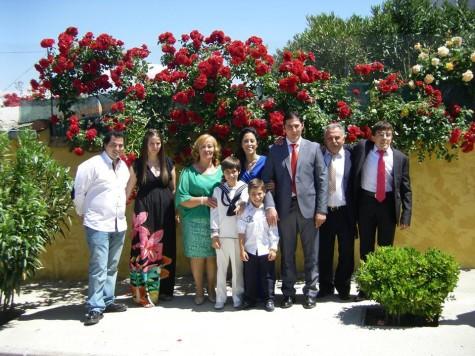 Comuniones en Guijuelo. Foto Jorge Martín