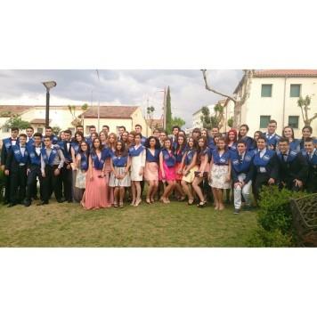 Graduaciones de los alumnos de Segundo Bachillerato del IES Vía de la Plata. Foto Soraya Moriñigo.