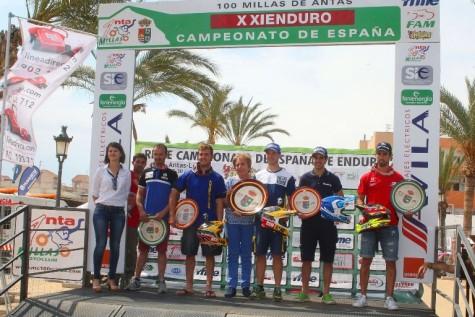 Lorenzo Santolino en el podium. Foto Niki Martínez.
