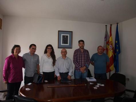 Corporación Municipal de Santibañez de Béjar.  Foto Isidoro Sánchez.
