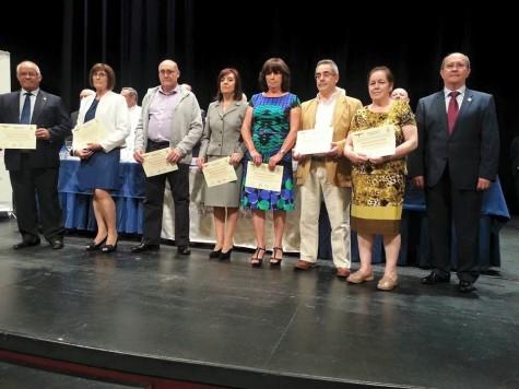 Premiados en el Día Mundial del Donante. Foto Hermandad de Donantes.