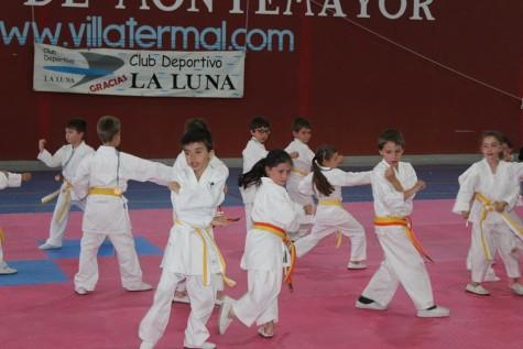 Segunda liga de kárate del Club Deportivo La Luna. Foto CD La Luna.