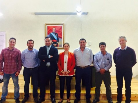 Corporación Municipal de San Esteban de la Sierra. Foto Ayuntamiento de San Esteban.