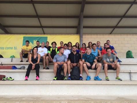 Atletas que se darán cita en el Internacional de Salamanca. Foto David Alejandro.