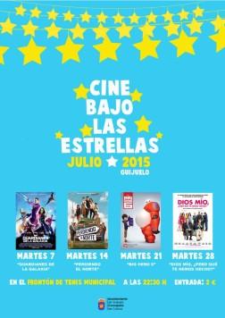 CARTEL CINE BAJO LAS ESTRELLAS 2015 copia