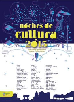 Cartel Noches de Cultura