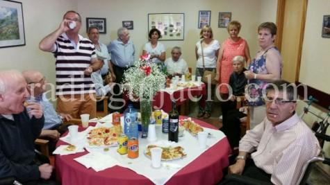 Día del Abuelo en la Residencia Esgra de Guijuelo. Foto archivo
